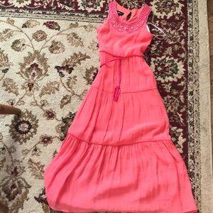 Amy Byer girls maxi dress. Size 7